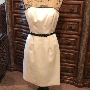 Dresses & Skirts - A.B.S. By Allen Swartz Satin/Silk Strapless dress.